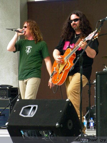 Pat Brown and Randall Robinson